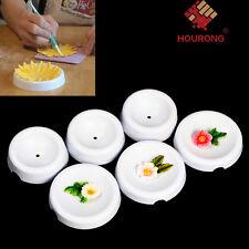 6pcs DIY Cake Decor Flower Forming Cups Drying Gum Paste Gumpaste Fondant Icing