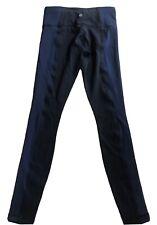 LULULEMON Wunder Under Pant size 4 Bonded Stripe Black / Inkwell Special Edition