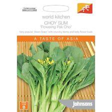 Johnsons Choy Sum Vegetable Seeds