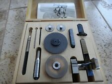 LEVIN Saw Table and Collet Holder w/ Box for 8MM Watchmaker Lathe