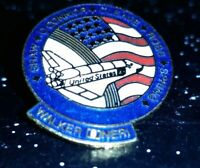 STS  61 B Space Shuttle Vintage NASA Collectible Space Lapel Hat Pin