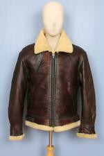 Stunning B-3 Sheepskin USAAF Leather Flight Jacket Medium 40/42