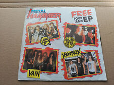 4 TRACK EP METAL HAMMER - LITTLE ANGELS / VAIN / XENTRIX / THE ALMIGHTY UK VG+