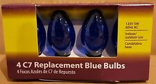 Light Keeper Pro Blue C7 Replacement Bulbs 120V 5W 60Hz Ac 4-Count