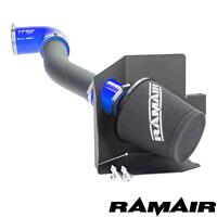 Blue - Ramair Air Filter Induction Intake Kit for Ford Fiesta mk8 1.0 Ecoboost