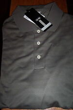 NWT! MENS ADIDAS PERFORMANCE GOLF SHORT SLEEVE POLO SHIRT- BROWN- XL , X-LARGE