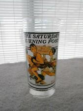 Saturday Evening Post Norman Rockwell No Swimming Tall Drinking Glass