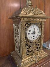 horloge napoleon 3 Bronze Laiton Diable Et Ange