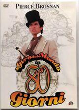 Dvd Il Giro del mondo in 80 giorni - ed. 2 dischi con Pierce Brosnan 1989 Usato