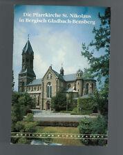 Die Pfarrkirche St. Nikolaus - in Bergisch Gladbach-Bensberg - 1991