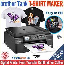 BROTHER PRINTER PLUS TRANSFER T-SHIRT MAKER  PRINTING  STARTER  PACK