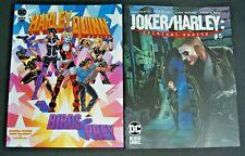 DC HARLEY QUINN AND THE BIRDS OF PREY # 3 & JOKER/HARLEY CRIMINAL SANITY # 5 VAR
