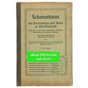 eBook: Schematismus der Herrschaften und Güter von Oberösterreich 1904 - GA050