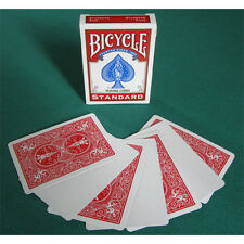 Singola Carta Bicycle Gaff Cards - Dorso Rosso/Fronte Bianco US2213