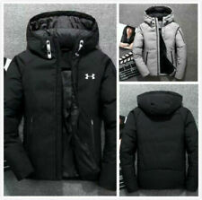 Men's Winter Warm Thick Duck Down Jacket Snow Hooded Coat Parka New