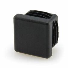 4 x Lamellenstopfen 15 x 15 mm Stopfen schwarz Endkappen für Vierkantrohr eckig