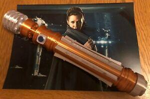 1:1 Scale- 3D Printed Princess Leia Lightsaber (Rise of Skywalker) Hilt/Cosplay