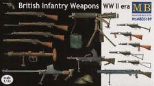 Master Box 1/35 armas británico de la segunda guerra mundial # 35109