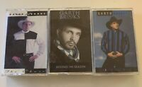GARTH BROOKS Cassette Tape Lot (3) - Beyond the Season Ropin' the Wind The Chase