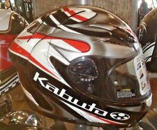 NEW KABUTO FF-5V DOT & SNELL FULL FACE MOTORCYCLE HELMET MEDIUM 74-1007M