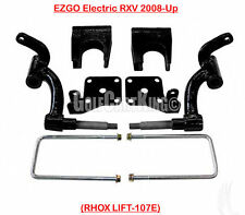 "RHOX 6"" Drop Spindle Lift Kit for EZGO RXV Electric 2008-2013 Golf Cart"
