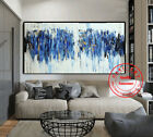 GUDI- Large Hand-Painted Modern Oil Painting Abstract Home Decor Canvas Art Wall