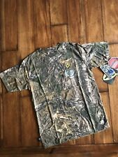 Scent Blocker Short Sleeve Youth Large s3 Cotton Realtree Pattern Camo