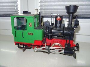 Spur G LGB  Dampflokomotive