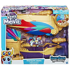 MY LITTLE PONY MOVIE 2017 Rainbow Dash Swashbuckler Pirate Ship Airship MLP NEW