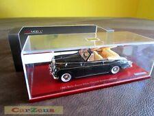 1:43 TrueScale TSM, 1961 Rolls-Royce Silver Cloud II Drophead Coupe, Black