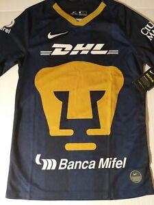 Small Pumas Unam Away Soccer Jersey 2019/20 Blue - Nike Men's - AJ5554-453