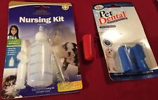 New Pet supplies - nursing kit and dental brushes