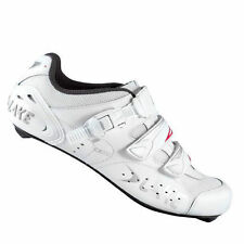 White Cycling Shoes