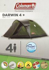 Coleman Darwin 4 Plus Personen Outdoor Zelt grün 200012150