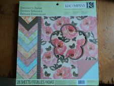 Stunning K & Co 12 x 12 Speciality Paper Collection Pad