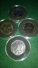 2017 Uncirculated Beatrix Potter coin set in protective capsules