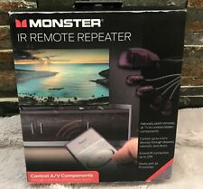 Monster IR Remote Repeater 4 Devices 25 Ft New in Box Remote Control Devices