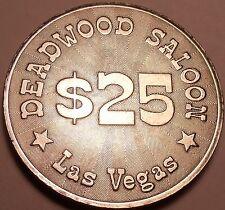 Massive UNC 40mm Bois Mort Saloon Las Vegas Gaming Token ~Awesome Détails~ Fr /