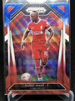 2020-21 Premier League Soccer Sadio Mane Red White And Blue Prizm #253 Liverpool