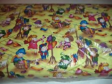 VINTAGE CHILD'S PLAY PRINT FABRIC  - 14 YARDS IN STOCK - BY THE YD - UNOPENED