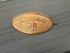 Southern Railway (SR) Engineman Cap Badge