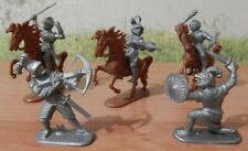 JEAN HOEFLER  Figures of Medieval Knights. Made in W.Germany