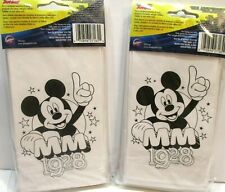 Disney Mickey Mouse Party Treat Goody Bags to Color Mm 1928 2 Packs 16 Total New