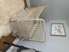 baby furniture crib nursery restoration hardware vintage metal ivory