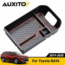 For Toyota RAV4 2019-2020 BOX Center Console Organizer Holder ABS Accessories AJ
