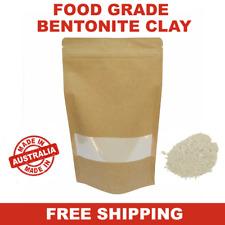 Organic Australian Bentonite Clay 400g – Food Grade – Detox - Face Masks