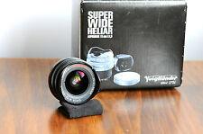 Voigtlander Super Wide-Heliar Asperical  15mm  f/4.5   Leica LTM Screw mount