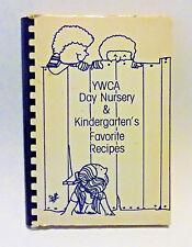 Vintage YWCA Day Nursery & Kindergarten Cook Book Recipes (1986) New Haven, CT