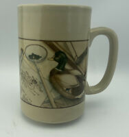 Vintage Otagiri  Japan Mallard Duck 5 Inch Tall Coffee Mug