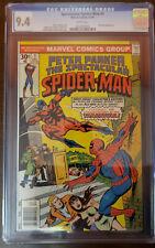 SPECTACULAR SPIDER-MAN #1 TARENTULA APP WHITE PAGES CGC 9.4